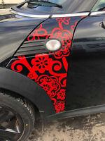 BMW Mini Cooper R55 R56 R57 A Panel Graphic Sticker Decal jcw cooper s