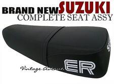 SUZUKI TS125ER TS125 ER COMPLETE SEAT [PLAIN SC + ER LOGO]