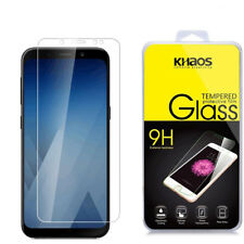 Khaos For Samsung Galaxy A8 Plus Tempered Glass Screen Protector