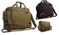 Mens Women's Satchel Shoulder Messenger Courier Dispatch College School Uni Bag