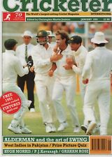 THE CRICKETER INTERNATIONAL MAGAZINE 1991 - ALL ISSUES COMPLETE