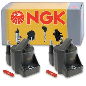 2 pcs NGK Ignition Coil for 1994-2003 GMC Sonoma 2.2L L4 - Spark Plug Tune kc
