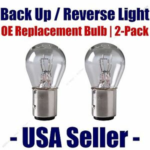Reverse/Back Up Light Bulb 2pk - Fits Listed Saturn Vehicles - 2057