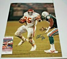 Christian Okoye Autographed Signed Kansas City Chiefs 16x20 Photo 2 JSA