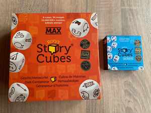 Rory's Story Cubes MAX Plus Zugabe Actions