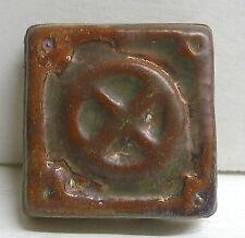 Pewabic Antique Tile Geometric
