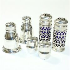 Antique/Vintage Sterling Silver Salt & Pepper Shaker Collection.