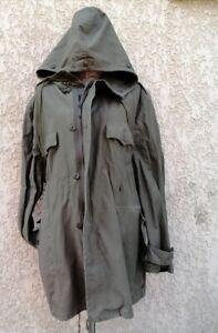 Armée classique Parka Homme Cotton couleur olive occasion