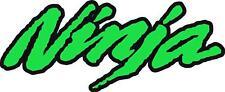 """#k237 (1) 4.0"""" Kawasaki Ninja Sticker Decal Laminated zx7 zx6r zx9r zx10 zx14"""