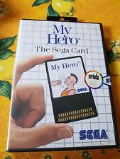 Sega Master System Spiel Card My Hero OVP + Aleitung