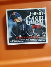 Johnny Cash REBEL Best Of 60 Songs ESSENTIAL COLLECTION Country Music 3 CD o2b