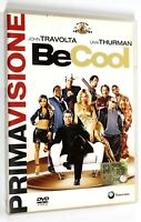 DVD BE COOL 2005 Coomedia Travolta Thurman Vaughn The Rock Tyler Keitel DeVito