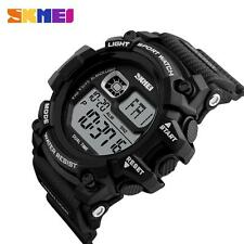Cool Mens SKMEI LED Date Watch Quartz Casual Waterproof Military Wristwatches OC