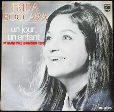 FRIDA BOCCARA 33T LP GRAND PRIX EUROVISION 1969 UN JOUR UN ENFANT