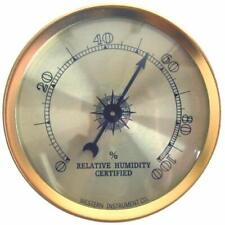 Analog Humidity Measure Gauge Hygrometer Aluminum Resist Corrosion Accuracy to1%