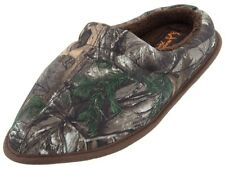 Realtree Mens Green Brown Camo House Slippers