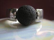echte Lavaperle - 10mm - kompatibel mit tipit M Ring