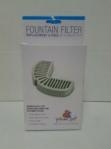 Pioneer Replacement Filters for Stainless Steel and Ceramic Fountains 11 Filters