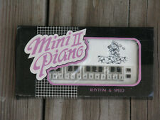 "MIN II PIANO Vintage Electonic Toy 1980's in Box 4.5"" TAIWAN ~ SHIPS FREE"