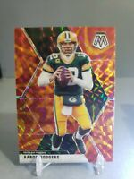 2020 Panini Mosaic Aaron Rodgers #79 Reactive Orange Prizm Green Bay Packers