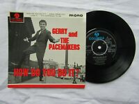 GERRY / PACEMAKERS EP  HOW DO YOU DO IT Columbia SEG 8257