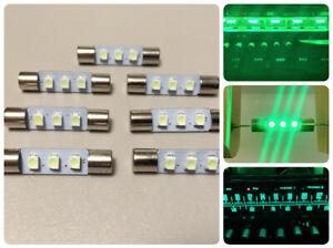 7x LED Lampen Lime-Grün Marantz Pioneer Sansui Sony VU lime-green lamps bulbs