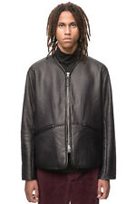 Our Legacy Leather Liner Jacket in Black, size Large/50 - BNWT, RRP £980