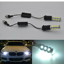 2 Error Free BAX9s H6W LED Bulb Parking Light For BMW F30 F35 no hid headlight