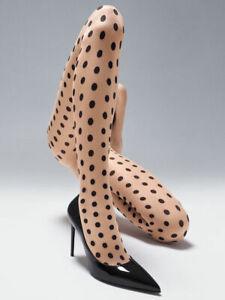 Wolford Elle Tights Strumpfhose mit großen Punkten
