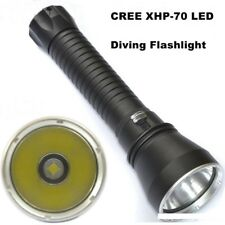 XHP70 Flashlight LED 8000 lumens Professional Diving 100M Aluminum Light Outdoor