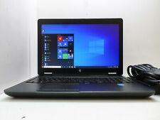 """HP LAPTOP ZBOOK 15 G2 15.6"""" FHD CORE i7-4810MQ 16GB 500GB SSD NVIDIA WIN10 T6-B6"""
