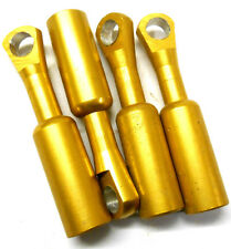 L11107b 1/8 Scale Pulling Arms Linkages Gold Orange x 4 58mm Track Rod Ends M3