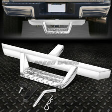 "FOR 2"" RECEIVER UNIVERSAL 32.5""X 2.25""CHROME TRAILER TOW HITCH STEP BAR+PIN&CLIP"