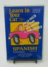 LEARN IN YOUR CAR: SPANISH LEVEL 3, 2-CASSETTE AUDIO BY HENRY RAYMOND, EASY USE