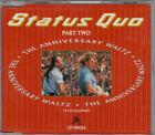 Status Quo rare CD Single Anniversary Waltz Part 2 1990