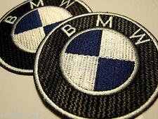 Aufbügeln Aufnäher für BMW auto mit Sperre - Naht Optischer Wirkung - Set of 2
