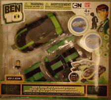 Ben 10 Ten Ben's Mark 10 and Kevin's Cruiser Action Car