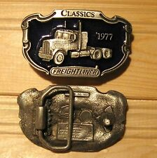Freightliner truck belt buckle (choice colors)