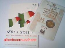 2 euro Italie 2011 150 années de l'unité Italia Italien
