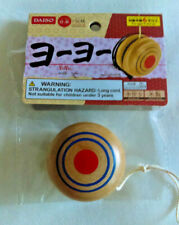 Japanese WOODEN YOYO Antique Style with Rope Handmade -  Small