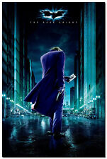 The Dark Knight Rises Movie Silk Poster 24x36' Wall Decor Joker Batman 049