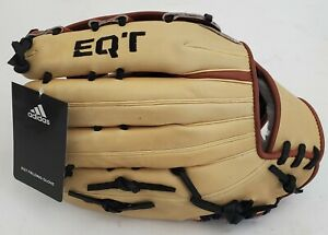 NEW Adidas EQT 1275 H RHT Fielding Baseball Glove Sand/Brown DN6803 12.75 Inch