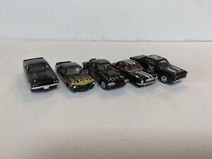 JL Thunderjet 500. Black Colors. Lot of 5 Bodies.