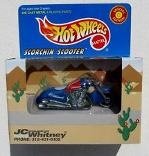 HOT WHEELS JC WHITNEY SCORCHIN' SCOOTER SPECIAL EDITION