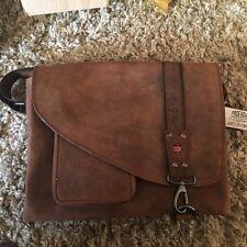 Pride and Soul Leather Bag - Shoulder bag, Genuine leather, Brown RRP £159