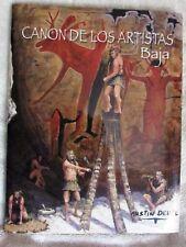 CANON DE LOS ARTISTAS by AUSTIN DEUEL--HC/DJ/1st Edition/SIGNED w/Drawing