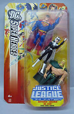 Justice League Three pack Superman Dr Light Aquaman Mattel Yellow Pkg 4+ S105-8