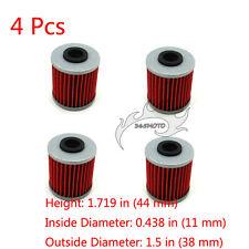 4x Oil Filter For 4 STROKE BETA EVO 300 250 SPORT KAWASAKI KX250F SUZUKI RMZ450