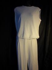 Vintage Deyon Pale Green Pant Suit Outfit Blouse  Small to Medium 1960's Legging