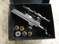 Vintage DERBYSHIRE Cross Slide Pivot Polisher for Watchmakers Lathe
